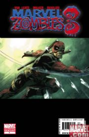 Marvel Zombies 3 #1 2nd Second Print Deadpool Variant (2008) Marvel comic book